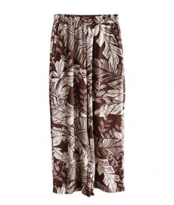 <br> Savannah printing Banding Pants <br><br>