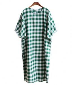 <br> Summer Panty Pocket Long Boxy Dress <br><br>