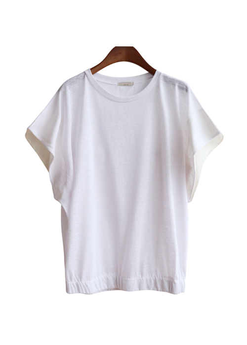 <br> Retail color combination Hem Banding Tee <br><br>