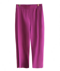 <br> Side Pleats Banding Pants <br> [Not returned or exchanged;