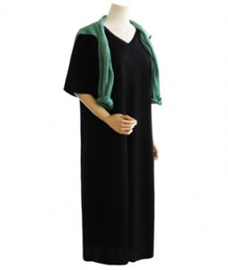 <br> Cool V-neck Long Dress <br> [Not returned or exchanged;