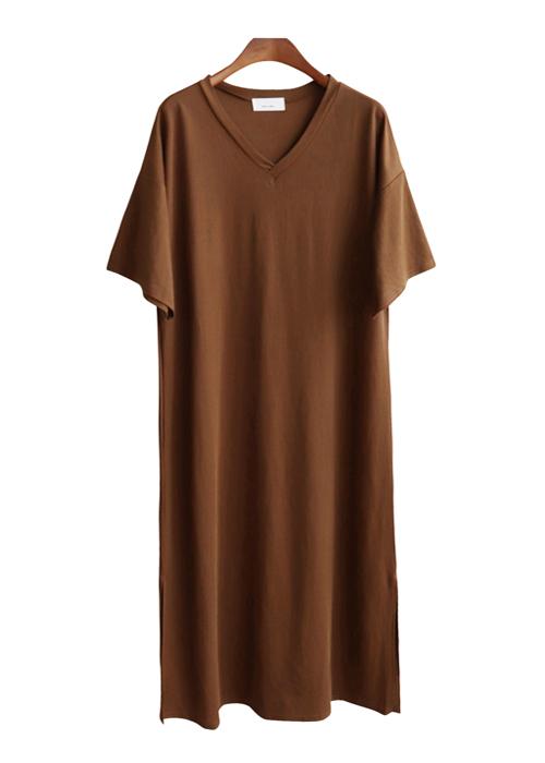<br> Cool V-neck Long Dress <br><br>