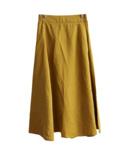 <br> line Pretty Flare Linen Skirt <br><br>
