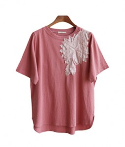 <br> Round Embroidered Round Tee <br><br>