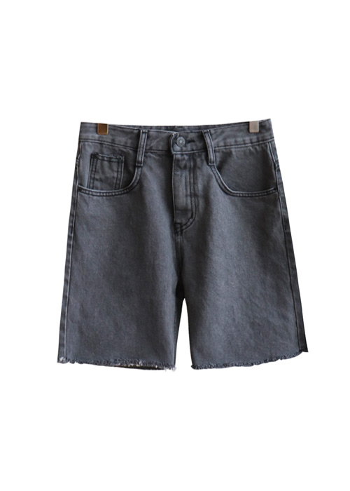 <br> Gray Denim Shorts <br> [Not returned or exchanged;