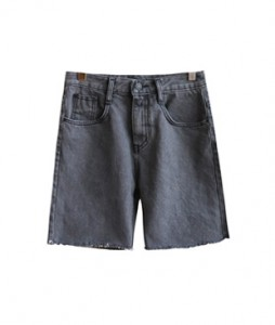 <br> Gray Denim Shorts <br> <b><font color=#253952>Pants 3rd place</font></b>