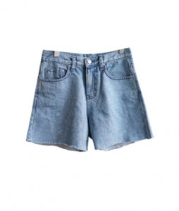 <br> Denim Shorts with narrow legs <br><br>