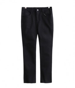 <br> Summer Black Straight Denim pants <br> <b><font color=#253952>Pants 4th place</font></b>