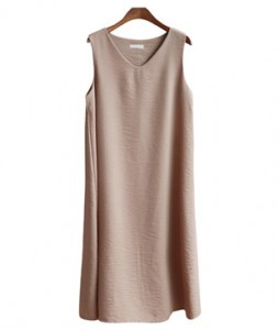 <br> Noah Sleeveless Long Dress <br><br>