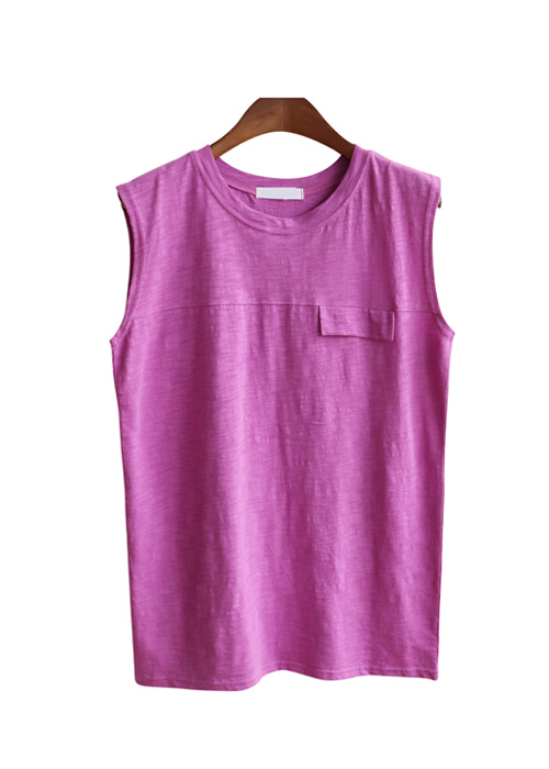 <br> Sleeve pocket Sleeveless shirts Tee <br><br>