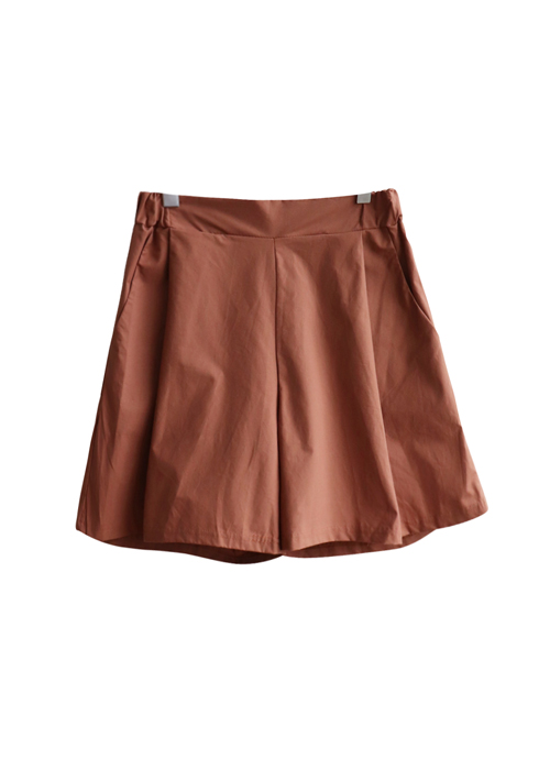<br> Kelly Pinch Cotton Shorts <br><br>