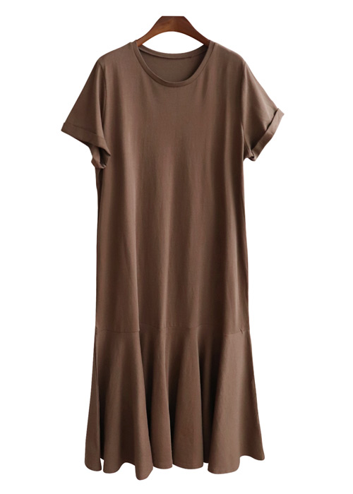 <br> Cavala Sleeve Flare Long Dress <br> [Not returned or exchanged;