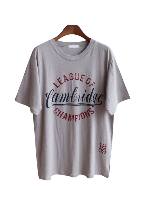 <br> Champion Lettering Tee <br> [Not returned or exchanged;