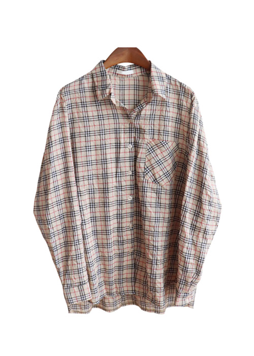 <br> Burberry Wrinkle Check Shirt <br><br>