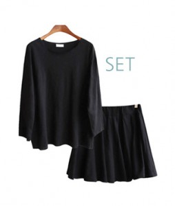 <br> Slab skirt set with underpants <br><br>