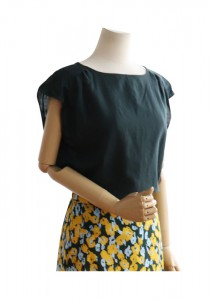 <br> Cool Shoulder Shirling Blouse <br><br>