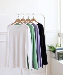 <br> Color Pretty Long-sleeve Tee <br><br>