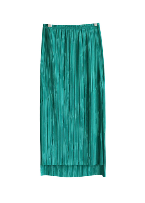 <br> Pleats Banding Skirt <br> [Not returned or exchanged;