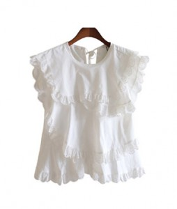 <br> Mary Race Blouse <br> [Not returned or exchanged;