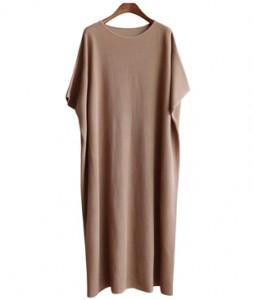<br> Ani Stork Knit Long Dress <br><br>