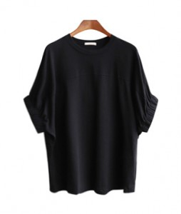 <br> Dore Sleeve Banding Tee <br><br>