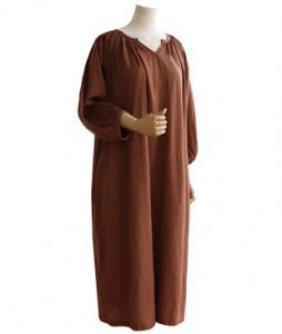 <br> Mary Shirring Slit Dress <br><br>