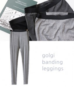 <br> Soft Corrugated Banding Leggings <br><br>