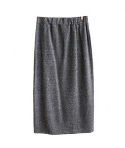 <br> Back Pockets Banding Cotton Skirt <br><br>