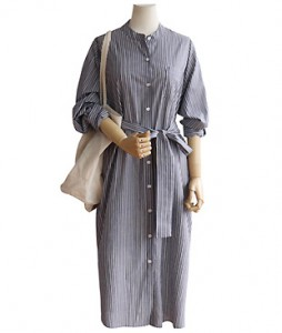 <br> two-way Shirt Dress <br> [Not returned or exchanged;