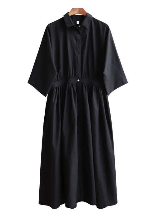 <br> feminine black dress <br> [Not returned or exchanged;
