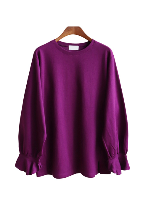 <br> Paul and Sleeves Ruffle Tee <br><br>