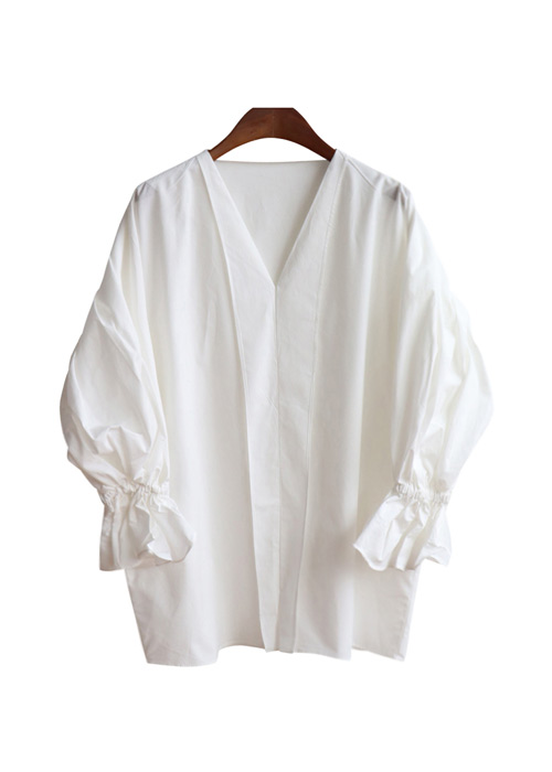 <br> Lady Sleeve Banding Blouse <br><br>