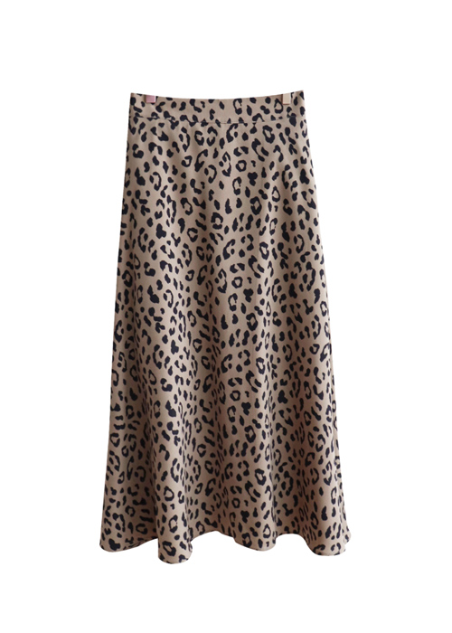 <br> line Beautiful Leopard Skirt <br> [Not returned or exchanged;