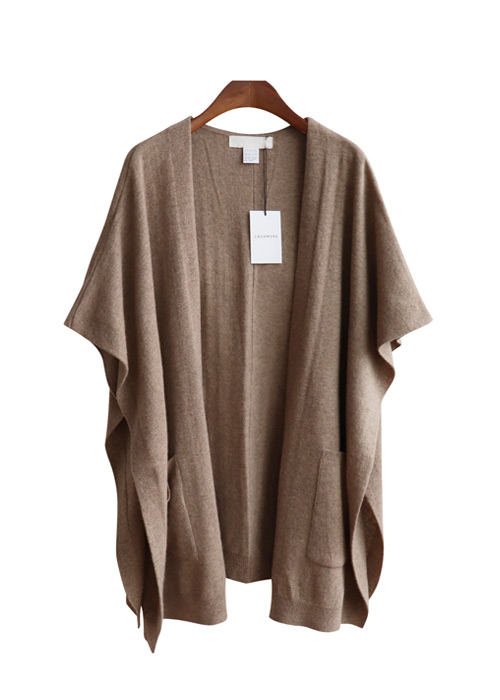 <br> Cashmere Rouge Shawl Vest <br> [Limited quantity sale, not returned or exchanged;