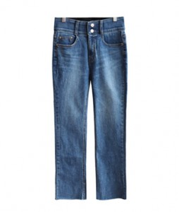 <br> Banding Straight Denim Pants <br> [Not returned or exchanged;