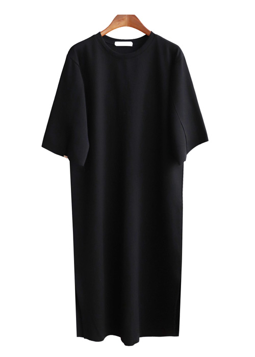 <br> Solid Dress Long Dress <br><br>