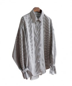 <br> Sleeved Pretty Stripe Shirt <br><br>