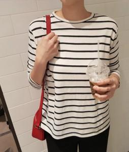 <br> Pit pretty Stripe Tee <br><br>