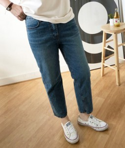 <br> Baggy Denim Pants <br> [Not returned or exchanged;