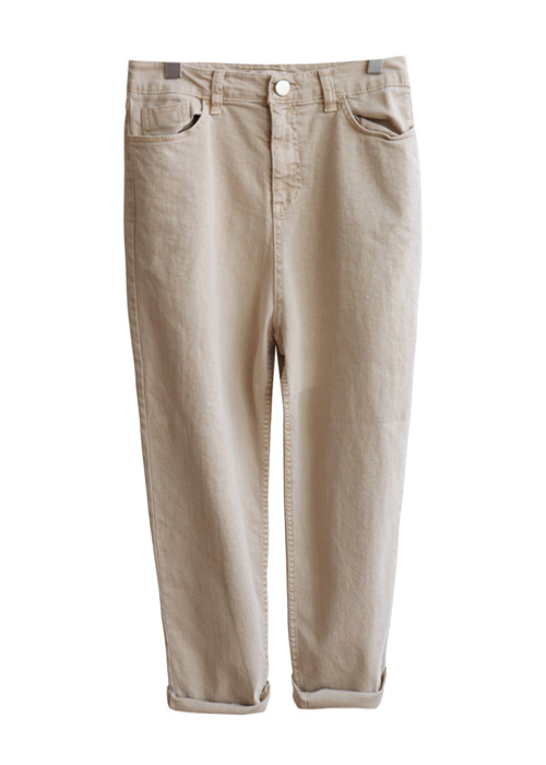 <br> Span Good Washing Color Pants <br> [Not returned or exchanged;