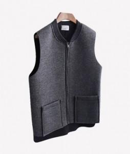 <br> Moble Neo Flannel Zipper Vest <br> <b><font color=#253952>Outer 1st item</font></b>