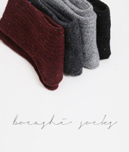 <br> Romantic Bokashi socks <br><br>