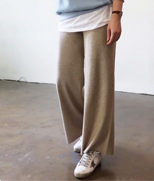 <br> Soft Knit Tights Pants <br> [Not returned or exchanged;