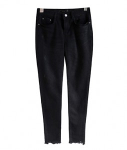 <br> Denim Pants (napping) Black Cutting <br> <b><font color=#253952>Pants 3rd place</font></b>