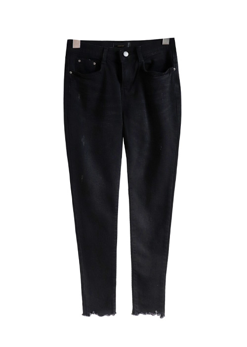 <br> Denim Pants (napping) Black Cutting <br><br>