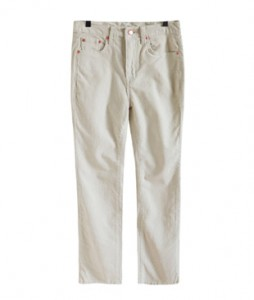 <br> Corduroy Straight Pants <br><br>