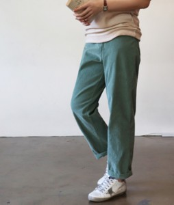 <br> Thong Corduroy Pants <br><br>