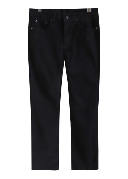 <br> Warm Peach napping Straight Pants <br> [Not returned or exchanged;