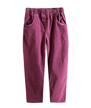 <br> Joey Corduroy Banding Baggy Pants <br> <b><font color=#253952>Pants 2nd place</font></b>