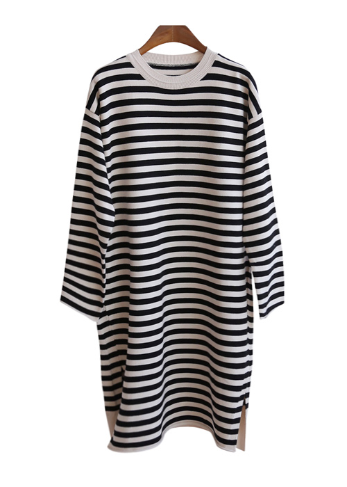 <br> Daisy Stripe Knit Dress <br><br>